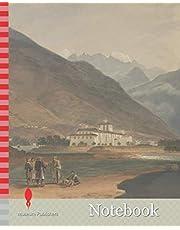 Notebook: The Former Winter Capital of Bhutan at Punakha Dzong, Samuel Davis, 1757-1819, British, 1783, Watercolor, Pen and black ink