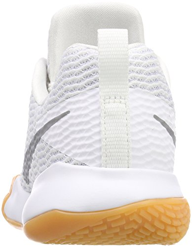 Nike Women's Zoom Live Ii Basketball Shoes White (White/Reflect Silver-pure Platinum 100) discount under $60 sale outlet locations discount how much lowest price online free shipping popular Acbgv6w
