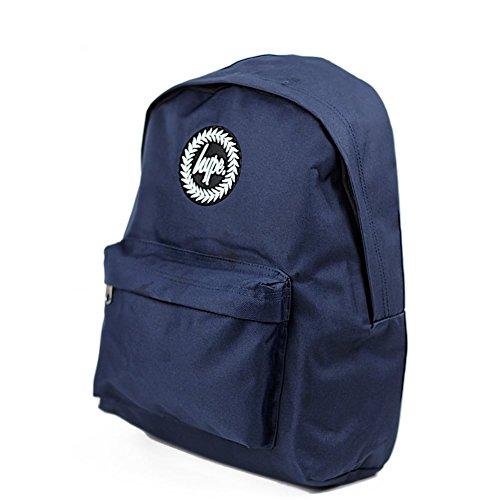 HYPE Backpack Plain Navy School Bag - HYPE Bags