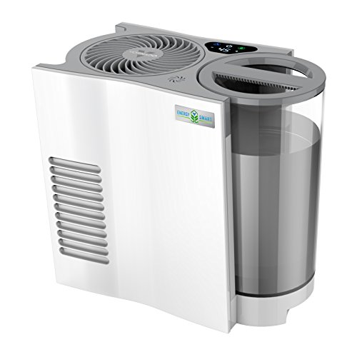 (Vornado EVDC300 Energy Smart Evaporative Humidifier with Automatic Shut-off, 1 Gallon Capacity, LED)