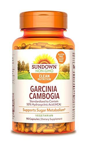 Sundown Garcinia Cambogia 1000 mg, 90 Vegetarian Capsules