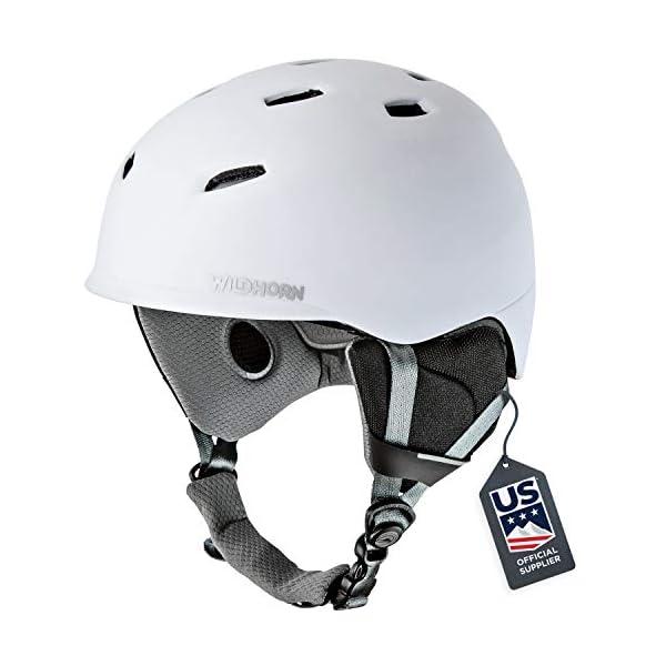 Wildhorn Drift Snowboard & Ski Helmet – US Ski Team Official Supplier...