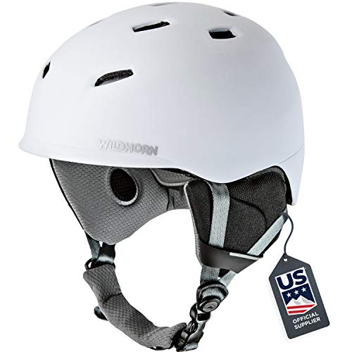 Wildhorn Drift Snowboard & Ski Helmet - US Ski Team Official Supplier - Performance & Safety w/Active Ventilation