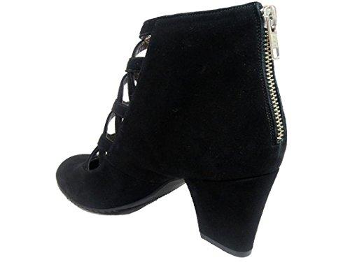 GENNIA XUPPA - Women´s Ankle Leather Boots Black a2XTwMR5i