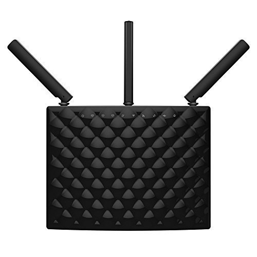 Tenda AC15 Wireless AC1900 Smart Dual band Gigabit Router,delivering both 1300Mbps 802.11ac at 5GHz and 600Mbps 802.11n at 2.4 GHz concurrently,USB3.0