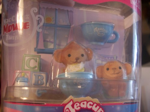 Teacup Families Error ~ Machichi Monkey Twins in MacCheez Mouse Twins Packaging
