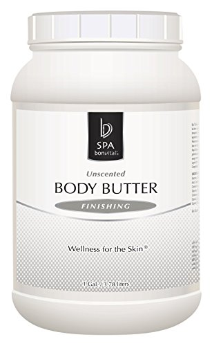 Bon Vital' Body Butter, Unscented Whipped Moisturizer with Cocoa Butter, Shea Butter, Beeswax, Protects and Refreshes Dry Skin, Hypoallergenic Lotion for Soft Skin, 8 oz. - Whipped Unscented Shea Butter
