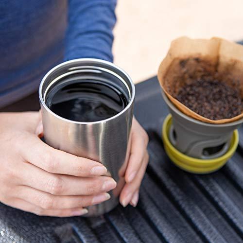 Portable drip coffee maker