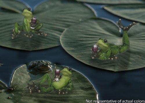 Ganz Porcelain (GANZ Happy Hour Frogs Figurines Set of 3)