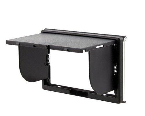 Compact Sun Shade for Sony NEX3, NEX5 Digital Cameras with PCK-LH1EM Screen Protector