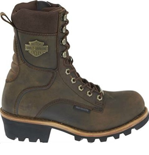 Motorcycle Boots Brown - 9