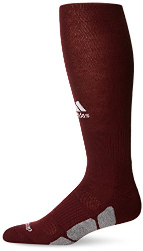 Sport Utility (adidas Utility All Sport Socks, Large, Maroon/White/Light)