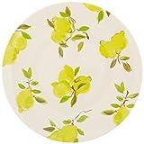 Kate Spade New York 176530 Lemon Melamine Dinner Plate, Bright Yellow