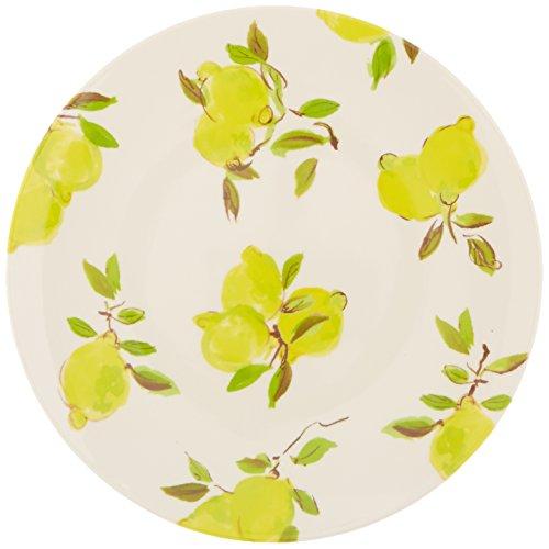 Dinner Lemon - Kate Spade New York 176530 Lemon Melamine Dinner Plate, Bright Yellow