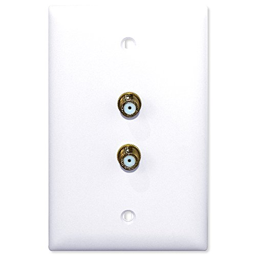Advanced Dynamics ADSWP1 White Splitter Or Wallplate Pro Original - White by Advanced Dynamics