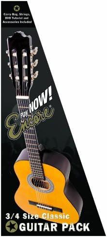 Encore ENC34OFT - Guitarra clásica (abeto laminado, tamaño 3/4 ...