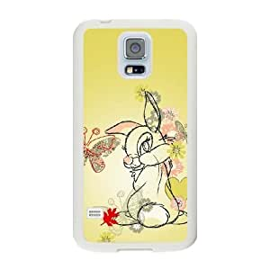 Fashion image DIY for Samsung Galaxy S5 Cell Phone Case White Thumper Wallpaper bambi Best Gift Choice For Birthday HMB3468175