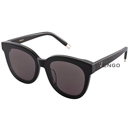 Valentine's Day Designer Frame Oversized Flat Lenses Women Sunglasses In Scarlet Korean Style - - Scarlet Lens