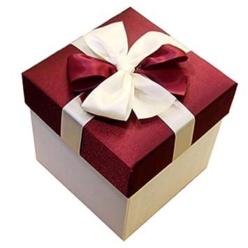 Retro Embalaje / Caja De Regalo Caja De Regalo De Navidad Cajas De Almacenamiento -02: Amazon.es: Oficina y papelería