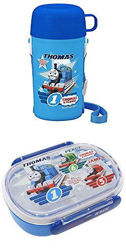 Case Set Lunch (Thomas Combination Set of Two with Bento (Lunch) Box and Thomas Thermos and Cup)
