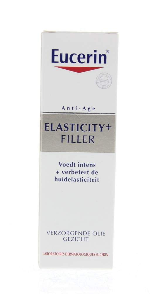 Eucerin Elasticity + Filler Facial Oil for mature skin with with essential oils 30ml