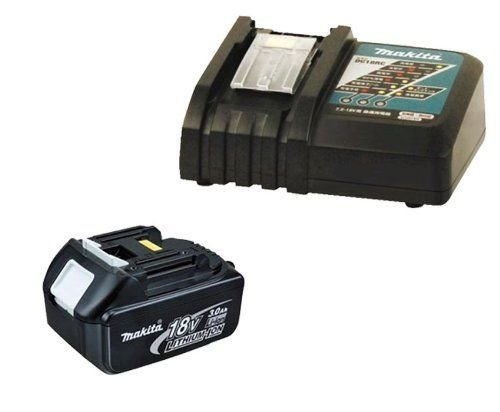 Makita 18 V Li-ion Battery and Charger BL1830 & DC18RA SUPPLIED BY DPT