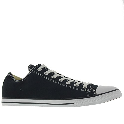 Converse Men's Chuck Taylor Lean Ox Trainers, Black, 11 US