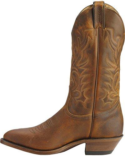Boulet Homme Cowboy Boot Med Orteil - 6010 Tan