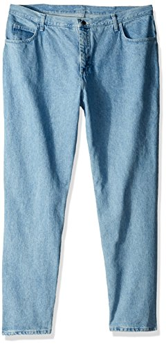Riders by Lee Indigo Women's Tall Plus Size Relaxed Fit 5 Pocket Jean, Classic Blue, 22L