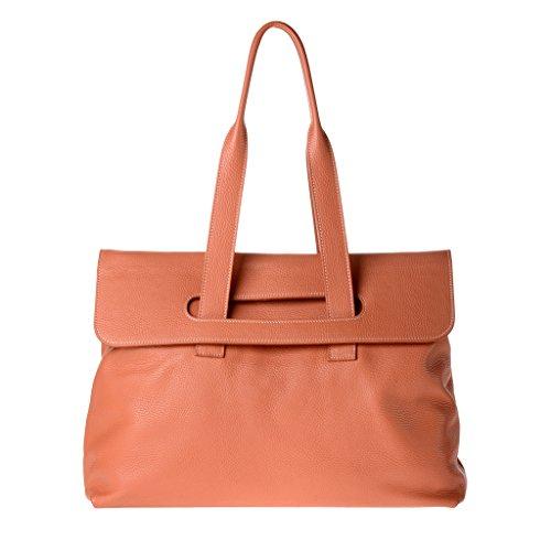 Dudu - Sac porté épaule - Dollaro - Aurora - Orange - Femme