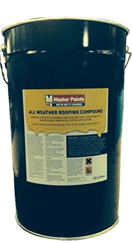 U0026quot;FREE DELIVERYu0026quot; ALL WEATHER ROOFING COMPOUND BITUMEN WATERPROOF  ROOF ...
