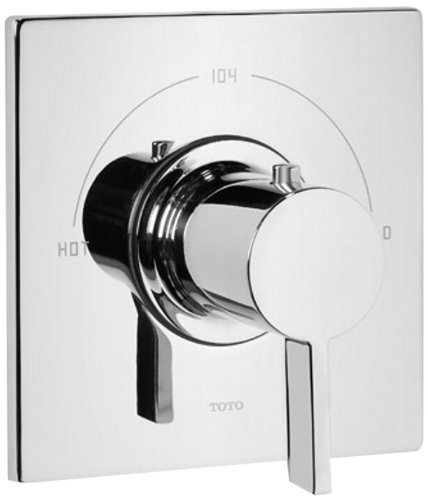 (Toto TS624T#CP Legato Thermostatic Mixing Valve Trim, Polished Chrome )
