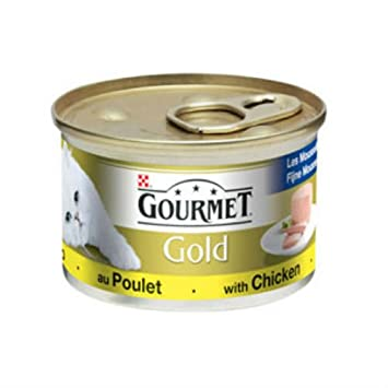 Gourmet Gold - Comida para gatos (85 g): Amazon.es: Productos para mascotas