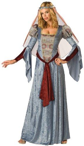 [InCharacter Costumes Women's Maid Marian Costume, Blue/Burgundy/Grey, Medium] (Halloween Costumes Renaissance)