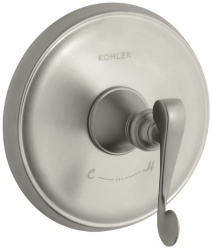Af Revival Shower Faucet - KOHLER K-T16175-4-BN Revival Thermostatic Valve Trim, Vibrant Brushed Nickel
