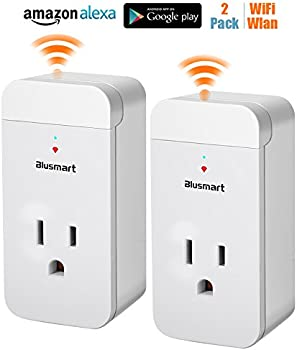 2-Pack Blusmart Smart Wifi Socket Outlet