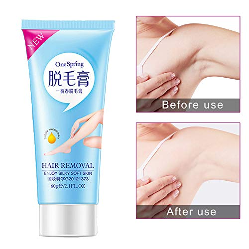 CapsA Underarm Hair Removal Cream for Women Private Parts Whitening Intimate Hair Armpit Pudendal Depilatory Paste