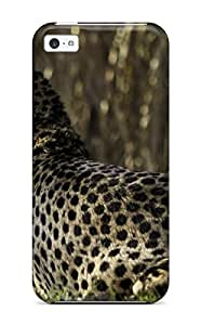 Fashion Protective Cheetah Case Cover For Iphone 5c