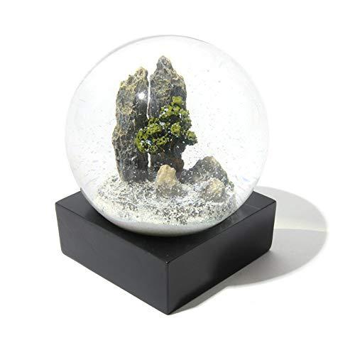 CARWORD Bola De Cristal De Espinas De Pino Bola De Nieve Fotografía  Meditación Exhibición Esfera Decoración d8c897b4ebcaf