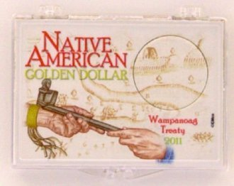 (2011 Native American Snap Lock 2x3 Coin Holder 3 Pack)