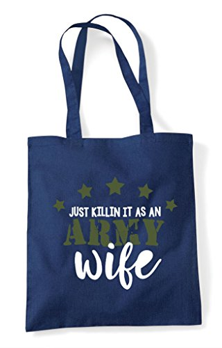 Tote As Army Shopper Wife An Bag Killing It Navy O7qxXaw51t
