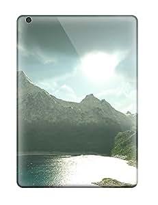 Premium Tpu Panoramic Cover Skin For Ipad Air