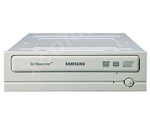 Samsung Super-WriteMaster 18x, Black Interno Negro - Unidad de disco óptico (Black, Negro, SATA, 2 MB, 48x, 32x, 18x)