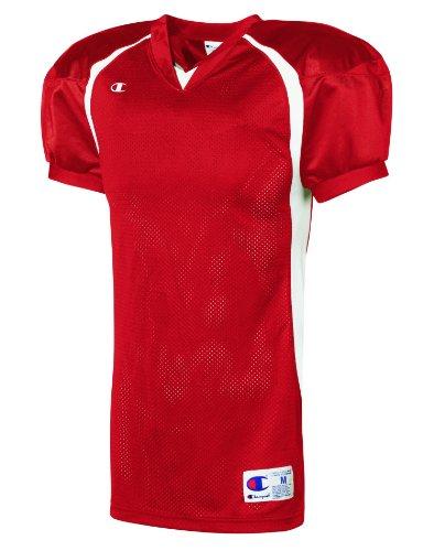 Challenger Colorblock Voetbalgame Jersey Scarlet / Wit