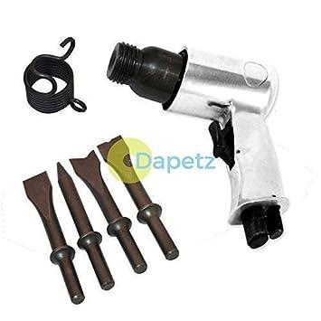 dapetz 150mm Martillo de aire Cincel + Cincel PANEL LATERAL trabajo Neumático Compresor: Amazon.es: Bricolaje y herramientas