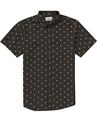 Billabong Mens Sundays Jacquard Short Sleeve Shirt