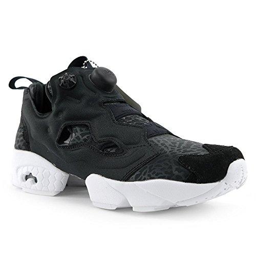 Reebok Womens Instapump Fureur Galerie Chaussure De Course Noir Blanc (8)