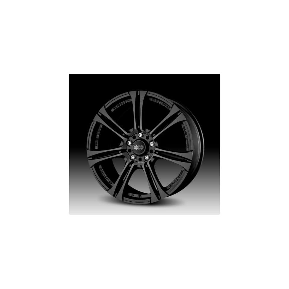 """Momo Next Matte Black Wheel (17x7""""/4x100mm) Automotive"""