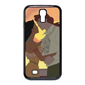 Samsung Galaxy S4 I9500 Phone Case Black Pocahontas Captain John Smith UF5744183