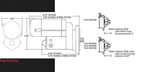CVR Performance 5048 Protorque Starter for Ford 351M-460